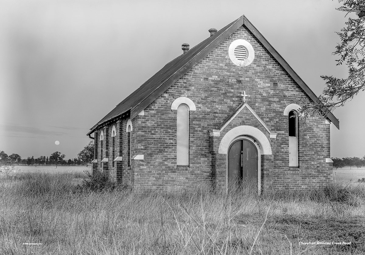 Church on Glennies Creek Rd 40 x 28
