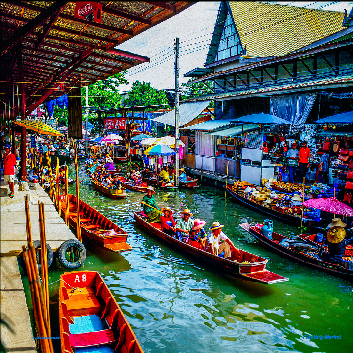 Floating Market 28 x 28