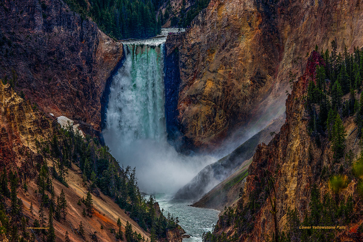 Lower Yellowstone Falls 30 X 20