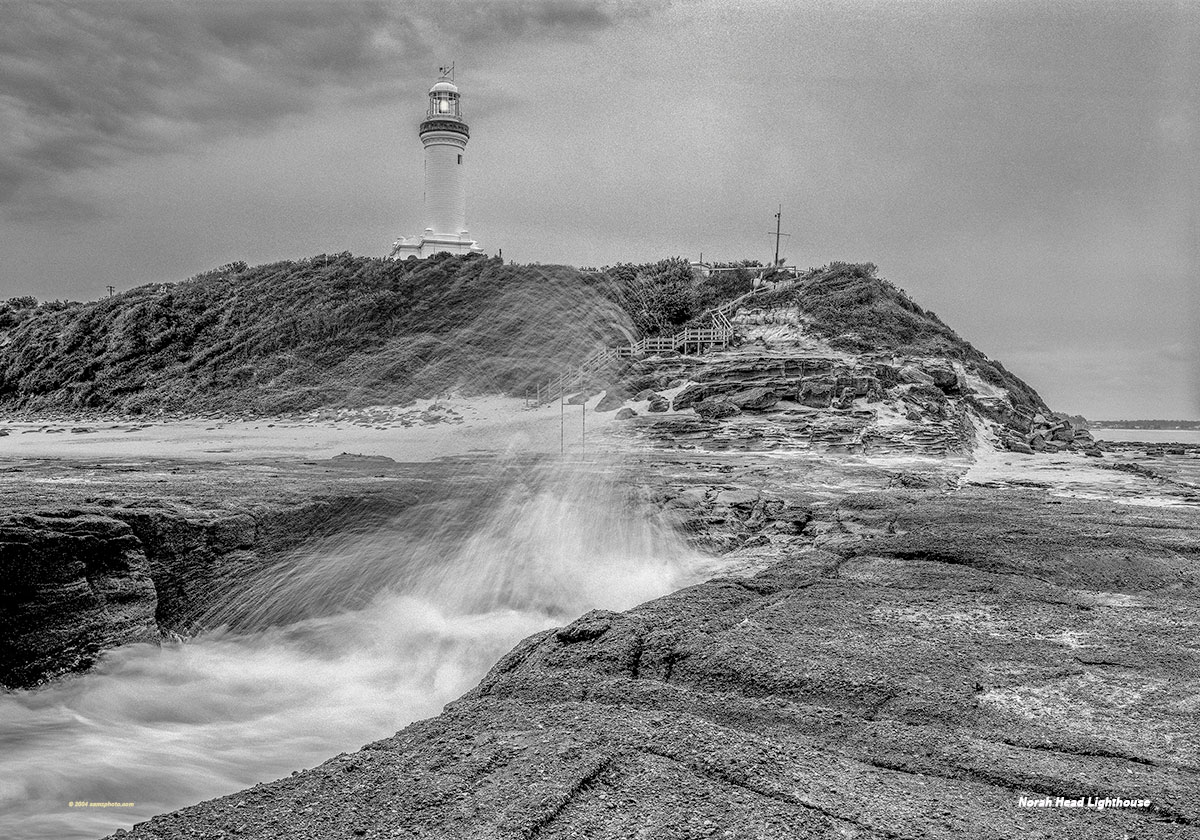 Norah Head Lighthouse 40 x 28