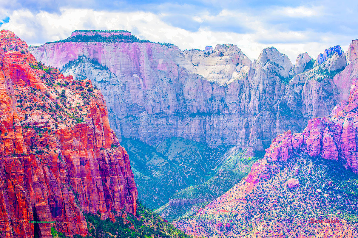 Zions Colors 30 x 20